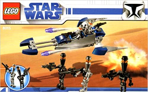 Lego Instruction Booklet Star Wars 8015 Bounty Hunters Assassin