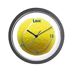 CafePress Classic Tennis Unique Decorative 10 Wall Clock
