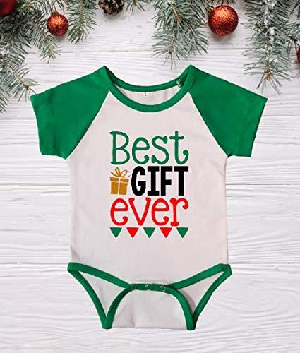 Christmas Onesie Raglan Shirt Best Gift Ever