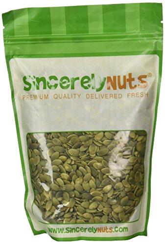 Sincerely Nuts Pumpkin Seeds- Pepitas (Raw) (No Shell) 1LB Bag