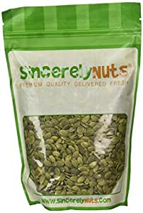 Sincerely Nuts Pumpkin Seeds- Pepitas (Raw) (No Shell) 1LB Bag