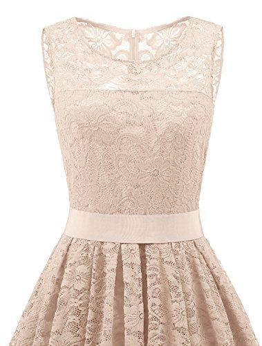 Vestido trapecio Champagnera para Wedtrend mujer dFnUOx88wq