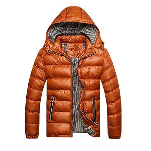 couleur Manteau Le Jaune Costumes Taille D'hiver Ultra Pour Et Duvet En Homme Orange L Léger Vestons Capuche À Hyvaluable Compressible 6twxS1US