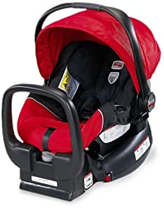 Britax Chaperone Infant Car Seat, Red (Prior Model)