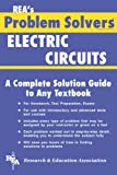 img - for Electric Circuits Problem Solver (Problem Solvers Solution Guides) book / textbook / text book
