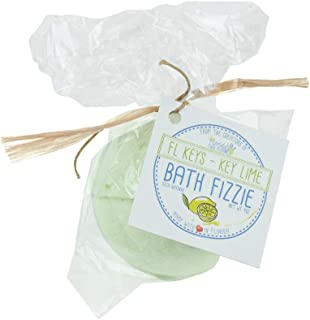 product image for Florida Salt Scrubs Bath Fizzie, 4 Ounce, FL Keys - Key Lime