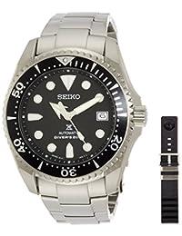 Seiko Shogun Prospex Automatic Dive Watch with Dia-Shield Titanium Bracelet SBDC029