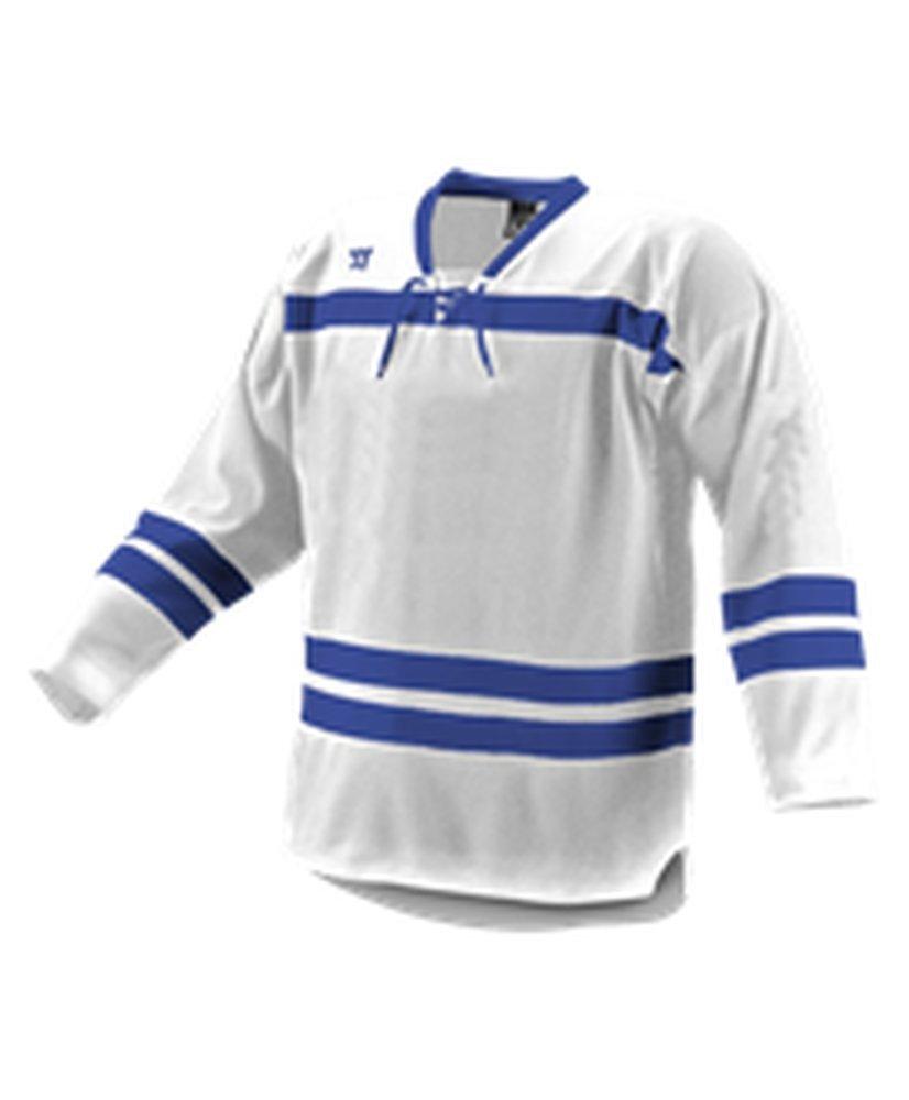 Alleson Athletic SHIRT メンズ B0743CN8Y3 Medium|White, Royal, Royal White, Royal, Royal Medium