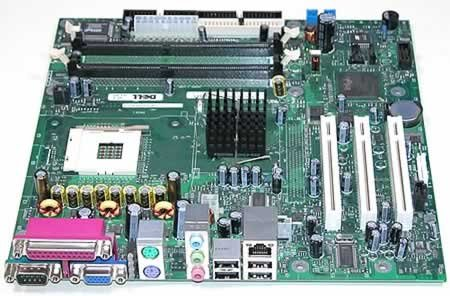 RF945 U2575 WC297 KH431 RF945 Dell Motherboard for OptiPlex GX170L 170L GX170L KH431 (Pentium Socket 4 478 Motherboard)