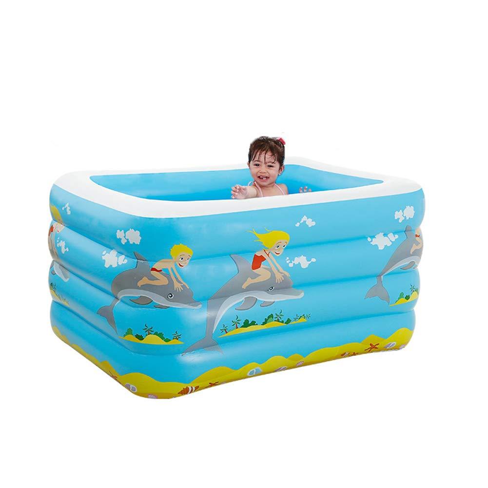 A8 SqsYqz Piscina Inflable para Niños Piscina Inflable Juguetes Acuáticos Familia Bebé Inflable Paquete Estándar De Piscina,A6,Single package