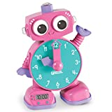 Learning Resources Tock the Learning Clock Toy, Pink