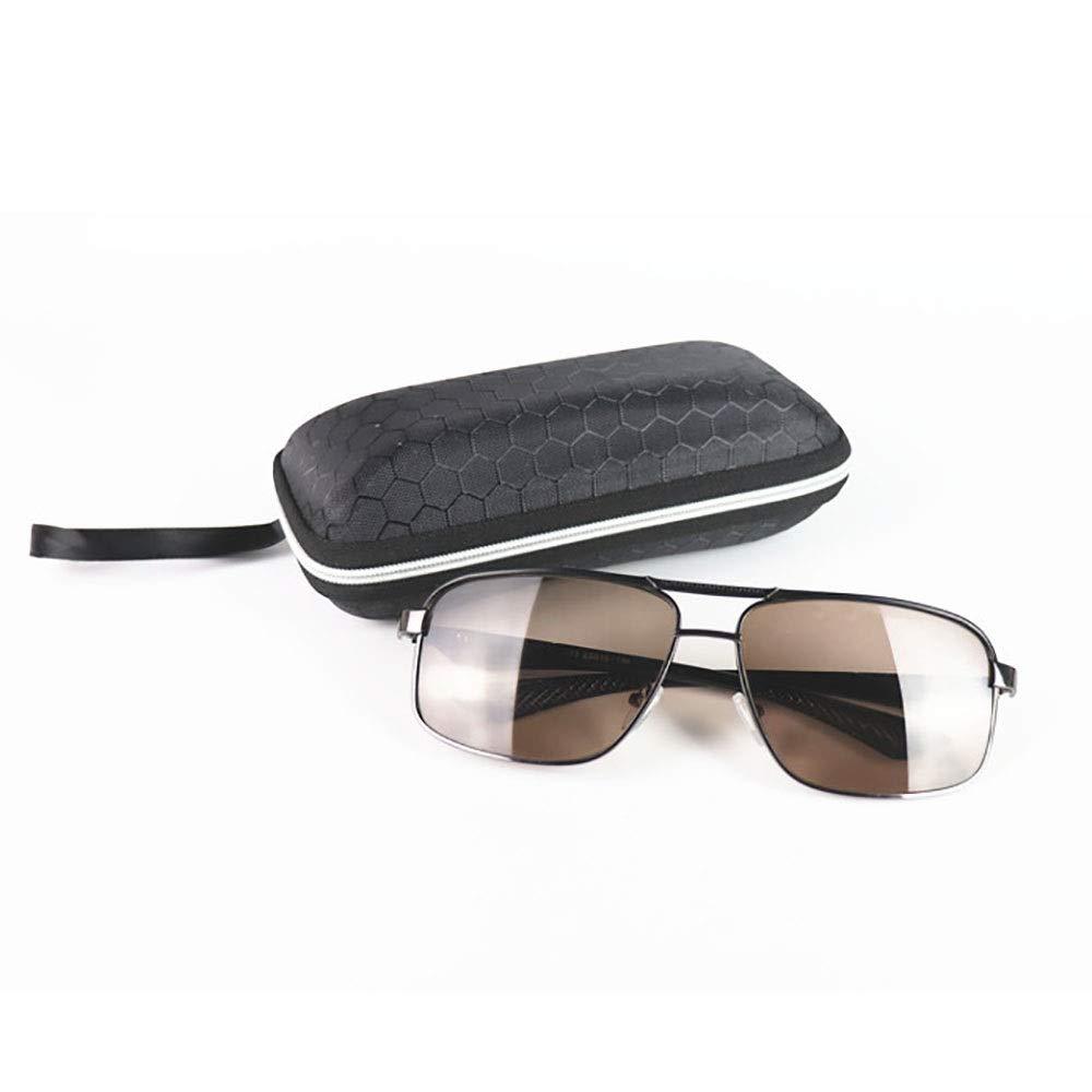 サングラス メンズ快適なラージフレーム防風および耐放射線サングラス。, ファッションサングラス  黒 B07RM3SSTD