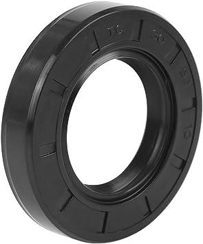 X AUTOHAUX Sello de Eje de Aceite TC de Doble Labio de Goma de 25mmx45mmx10mm para Coche