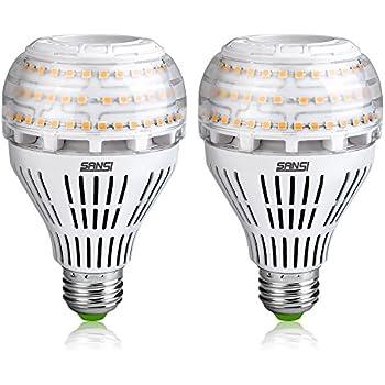 200-150 Watt Equivalent A21 22W LED Light Bulbs-3000 lumens 3000K Warm White, CRI 80+, E26 Medium Screw Base, Non-dimmable Ceramic Bulbs for Home Lighting, ...