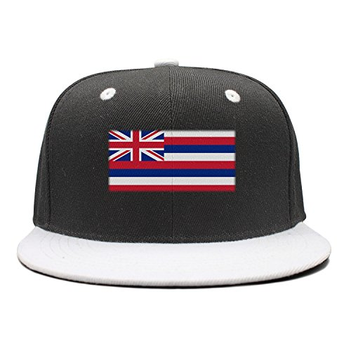 The Flag Of Hawaii Cool Design Hip Hop Hat Caps