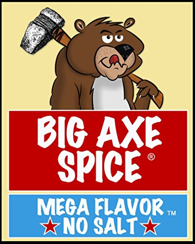 Big Axe Spice COMBO Farmstead 2-PACK: Sodium Free Vegetable Dip Seasoning Spice Blend/FREE of Salt, Sugar, Gluten and Preservatives ~ Vegetarian Vegan Paleo Kosher & Halal Friendly