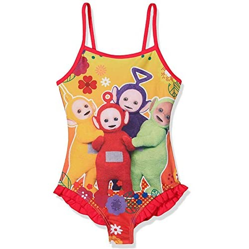 Filles Teletubbies officiel Costume Maillots de bain Licensed Natation Age 2 à 6 ans