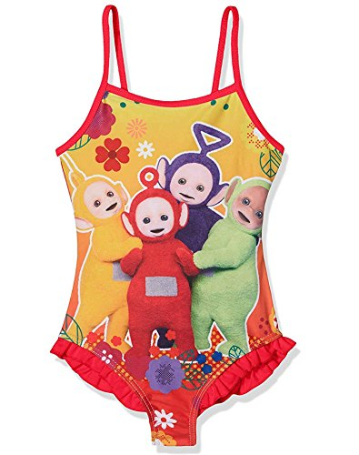 Official Licensed Girls Teletubbies Swimming Costume Swimwear Age 5-6 Years -