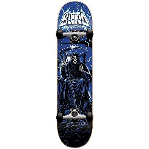Blind 10511840 Lightning Blue Complete Skateboard, Blue, Size 8.0FU