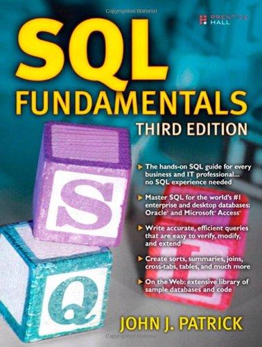 SQL Fundamentals (3rd Edition) by Prentice Hall