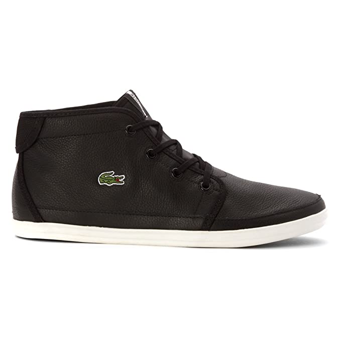 fc61cca68dd8 Lacoste Women s Ziane Chukka BLW High Top Black Black  sneakers-and-athletic-shoes 9 M  Amazon.ca  Shoes   Handbags