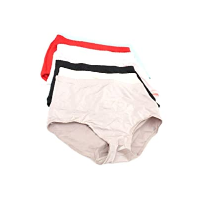 12 Pairs: Women's High-waisted Girdle Panties - Extended Sizes