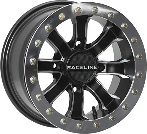 14-19 POLARIS RANRZR1000XE: Raceline Mamba Beadlock Wheel (Front/Rear / 14X10 / 4X156 5+5) ()