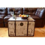 Styled Shopping Decorative New York Large Wood Steamer Trunk Wooden Treasure Hope Chest