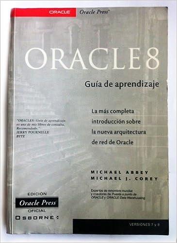 Oracle 8i Guia De Aprendizaje