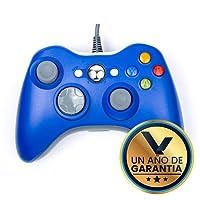 Control Alámbrico Compatible XBOX 360 Color Azul