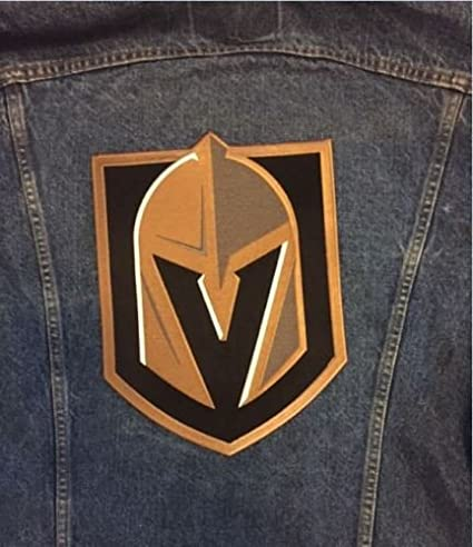 2018 Golden Knights Jacket Patch Inaugural Season Stanley Cup Playoffs  Large 8-3/4
