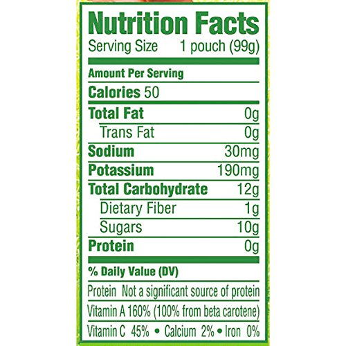 51 vZbJilnL - Gerber Organic 2nd Foods, Fruit & Veggie Variety Pack Pureed Baby Food, 3.5 Ounce Pouch, 18 Count (Packaging May Vary)