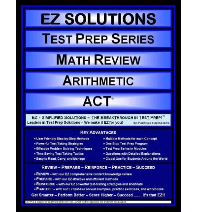 Download Math Review Arithmetic: Act (Paperback) - Common ebook