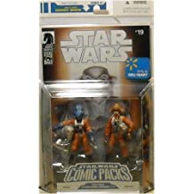 Hasbro Star Wars Action Figure Comic 2-Pack Dark Horse: Star Wars X-Wing Rogue Squadron #19: Ibtisam And Nrin Vakil