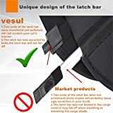 Vesul Black Updated Tonneau Cover Retractable