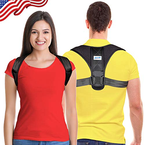 Posture Corrector for Men and Women - Adjustable Upper Back Brace for Clavicle Support and Providing Pain Relief from Neck, Back and Shoulder(Universal)