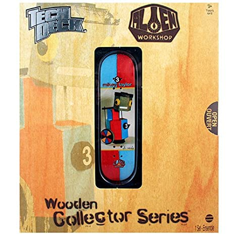 Amazoncom Tech Deck Wooden Collector Series Mikey Taylor Alien