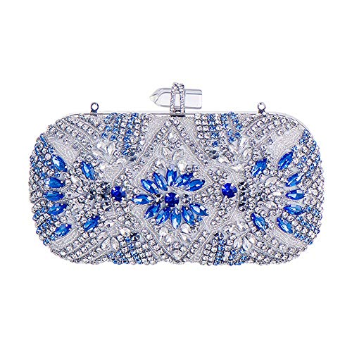 Evening Ysjamm Cheongsam Bridal Chain Handbag Party Bag Fabric Clutch Handbags Gift Rose Shoulder qSx1SrFwX