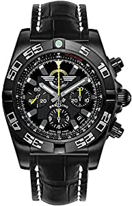 Breitling Chronomat 44 Blacksteel Mens Watch MB01109L/BD48-744P