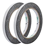 uxcell 2pcs 8mm x 10M Super Strong Double Sided Adhesive Tape For Repair Touch Screen Phone
