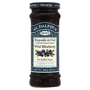 St. Dalfour Wild Blueberry Jam Spread No Added Sugar (284g)