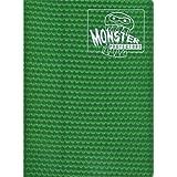Monster Protectors 9 Pocket Green Holofoil Binder Album - Holds 360 Yugioh, Magic, and Pokemon Cards