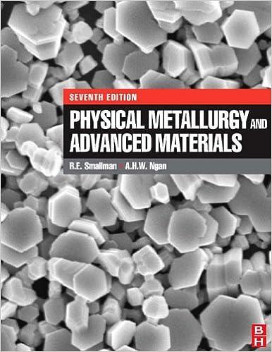 Physical Metallurgy and Advanced Materials, R  E  Smallman
