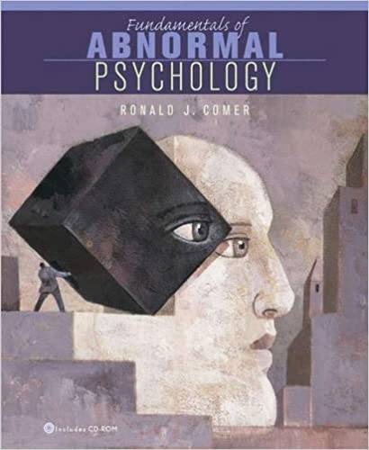 Fundamentals of abnormal psychology ronald j comer 9780716786252 fundamentals of abnormal psychology 4th edition fandeluxe Images