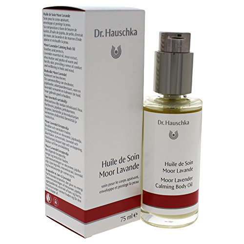 Dr. Hauschka Moor Lavender Calming Body Oil, Soothes and Protects, 2.5 Ounce (2.5 Ounce Body Oil)