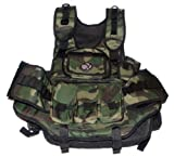 GXG Army Swat Paintball Airsoft Tactical Vest Camo