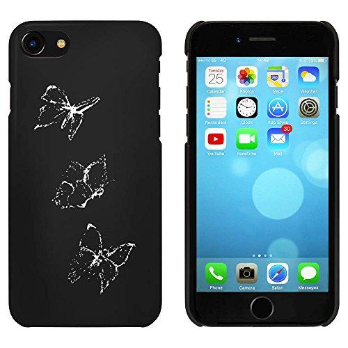 Noir 'Papillons' étui / housse pour iPhone 7 (MC00069261)
