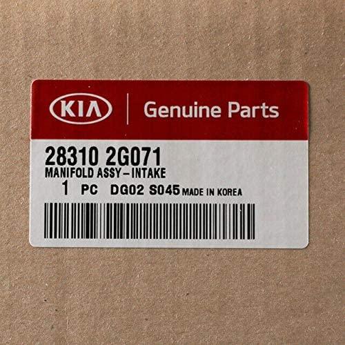KIA Manifold Assy-Intake Air Intake Automotive prb.org.af