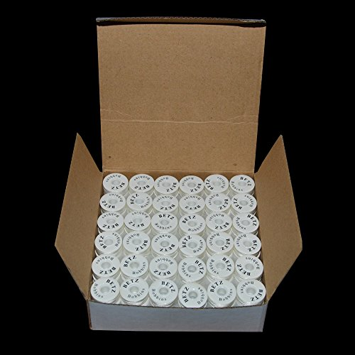 144 Style L Prewound White Bobbins for Embroidery / Sewing Machine