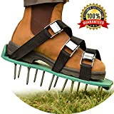Lawn Aerator Shoes by NiG Tools - Lifetime Heavy Duty Spiked Shoes - 2